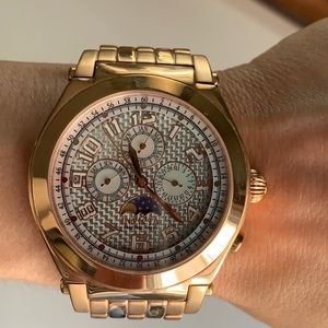 Invicta Men's Rose Gold Chronograph Watch